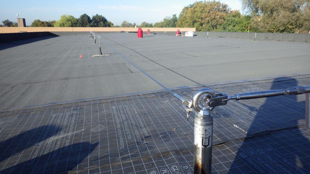 Leeflijn kabelsysteem platte daken fleexpd echelle europeenne